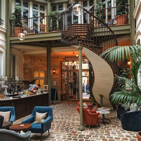 The Hoxton Hotel in Paris Offers Contemporary Chic in an
