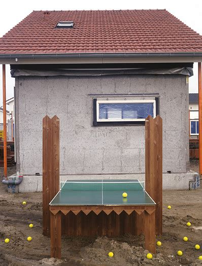 NEXT Architects - Next Projects - Table tennis fence