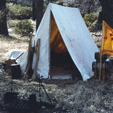 Wedge Tents- French & Indian War Tent- Revolutionary War