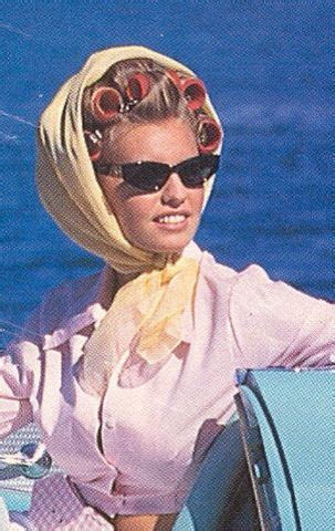 Rollers set and scarf for boating?? - I don't know about