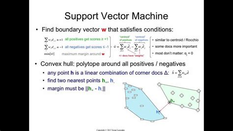 Support Vector Machine: how it really works - YouTube