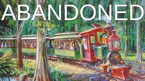 Abandoned - Disney's Fort Wilderness Railroad - YouTube