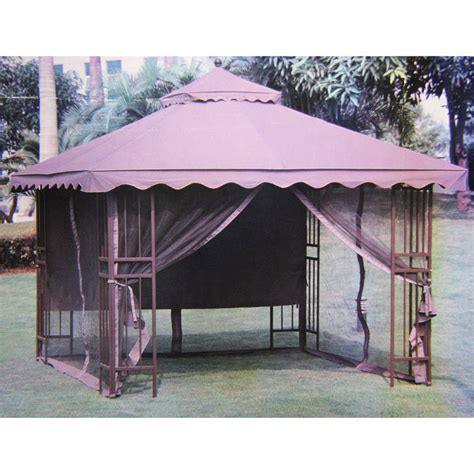 Victory Garden 10 x 10 Scalloped Gazebo Replacement Canopy