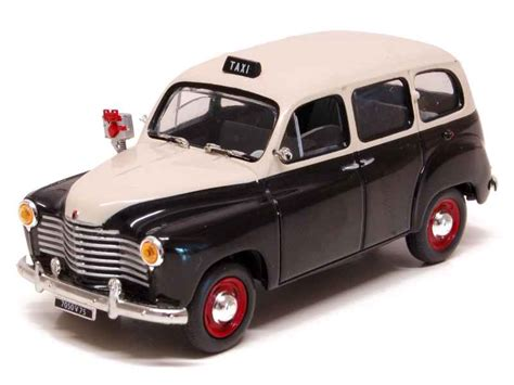 Renault - Colorale Prairie Taxi 1953 - Solido - 1/43
