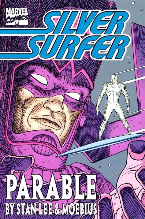 Marvel Comics of the 1980s: 1988 - Silver Surfer: Parable