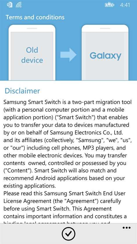 Samsung Smart Switch for Windows 10 free download