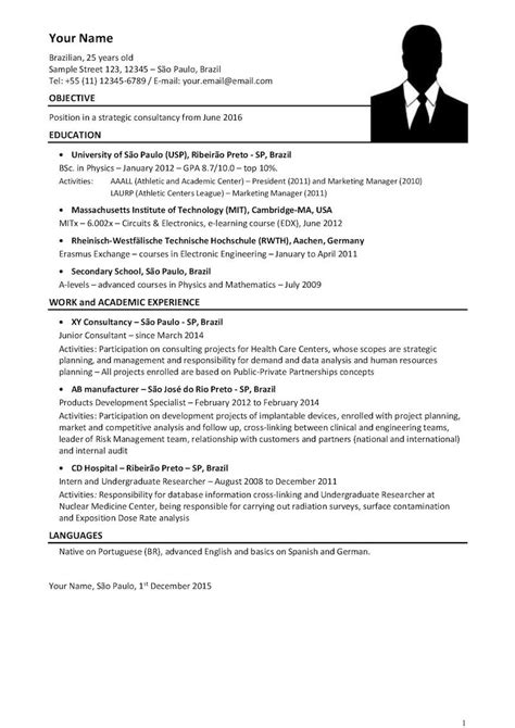 Consulting CV: Download your consulting resume template