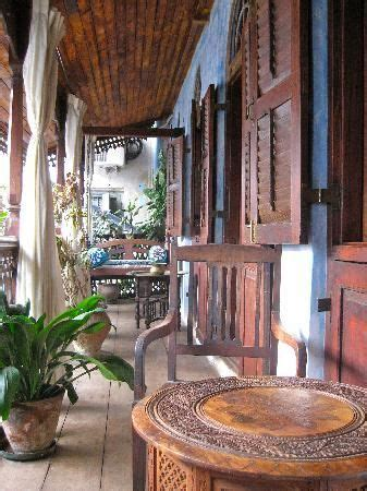 This little hotel is hidden in the middle of Zanzibar old