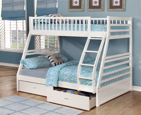 Twin over Full Bunk Bed w/ Storage Drawers! Free Delivery