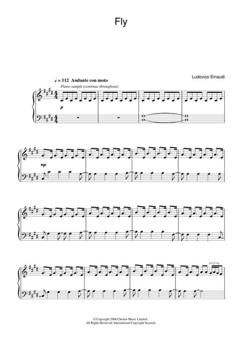 partition piano intouchables fly