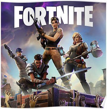 Fortnite: Cover Poster   Video game font