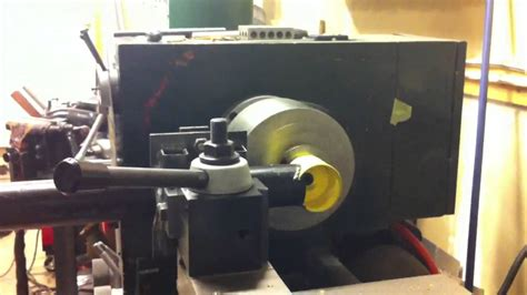 tube notcher for lathe for thick pipe - YouTube