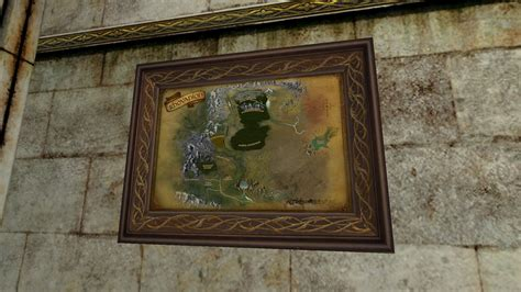 Small Map of Rhovanion (2nd Edition) - LotRO Housing by D