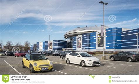 Colossus Laval Movie Theater Editorial Stock Photo - Image