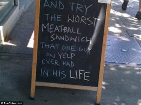 Hilarious chalkboard signs offer bacon, booze and