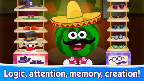 FUNNY FOOD 2! Educational Games for Kids Toddlers v1