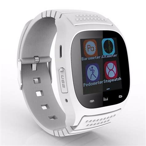 M26 Waterproof Smart Wrist Watch Phone Mate For Android