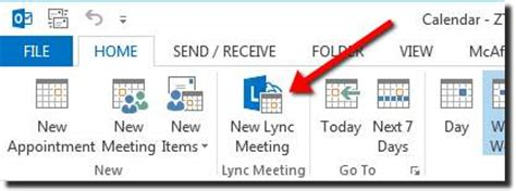 Schedule a Meeting or Conference Call Using Outlook 2010