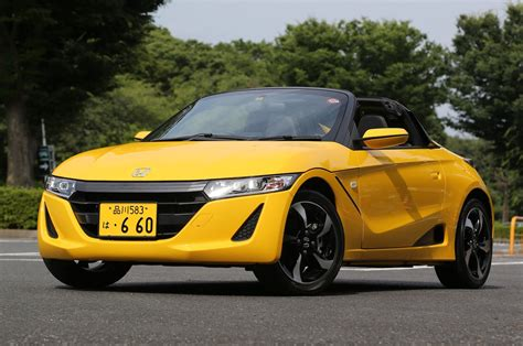 2016 Honda S660 Roadster - First Drive Review - Motor Trend