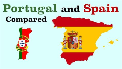 Portugal and Spain Compared - YouTube (With images