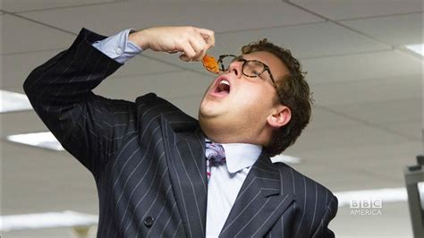 JONAH HILL & Wolf of Wall Street's Infamous Goldfish