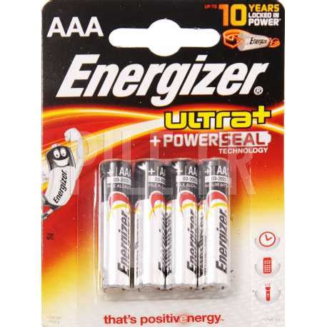 Piles LR03 AAA Energizer Max