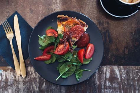 Plate, meal, food and tomato HD photo by Melissa Walker