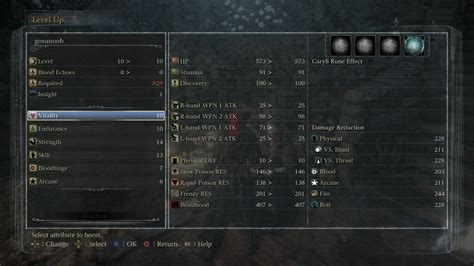Bloodborne Stats and Origins guide