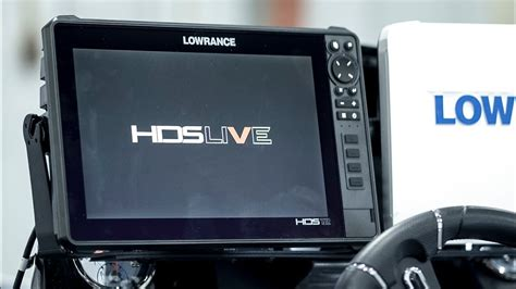 Initial Setup of the Lowrance HDS Live 12inch - YouTube